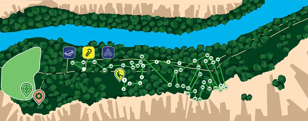 Parcours vert