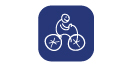 Icone Parc à vélos